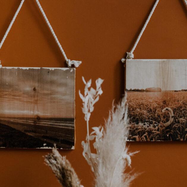 ein persönliches Bild gedruckt auf Holz für deine Wände